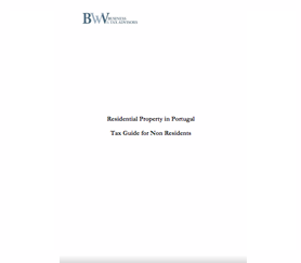 RESIDENTIAL PROPERTY IN PORTUGAL –  TAX GUIDE FOR NON RESIDENTS.